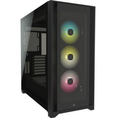 Corsair iCUE 5000X RGB Black Gaming PC Case