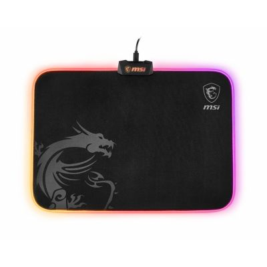 MSI AGILITY GD60 Black/RGB Gaming Mousepad