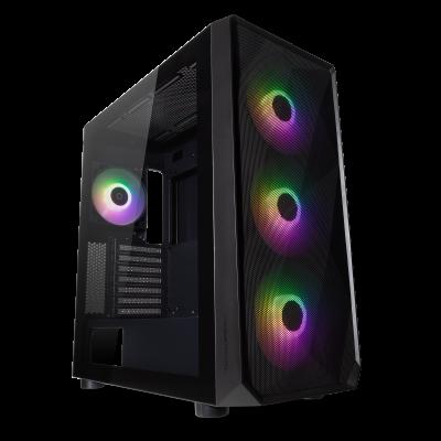 Tecware Forge L Black ARGB Gaming PC Case