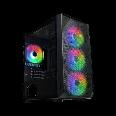 Tecware Forge M Black ARGB Gaming PC Case