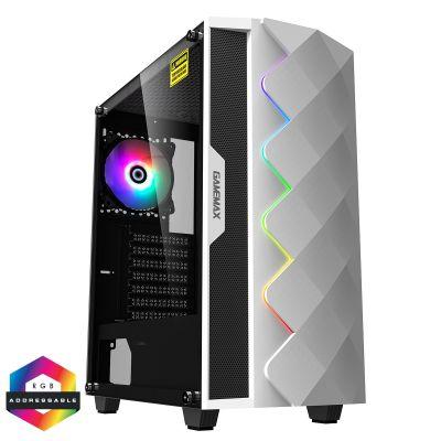 Gamemax White Diamond ARGB PC Gaming Case