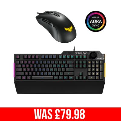 ASUS TUF GAMING K1 Keyboard & M3 Mouse Bundle