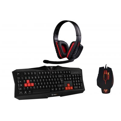 Gaming Keyboard, Mouse and Headset Bundle
