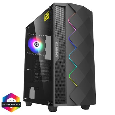 Gamemax Black Diamond ARGB PC Gaming Case