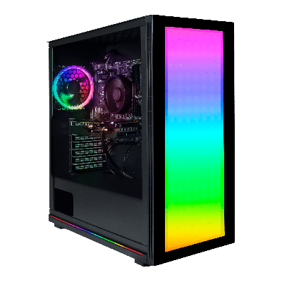 Fierce PC Lumina Lightboard ARGB Gaming PC Case