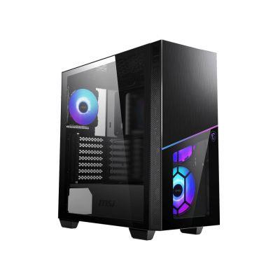 MSI MPG SEKIRA S100R Mid Tower Gaming PC Case