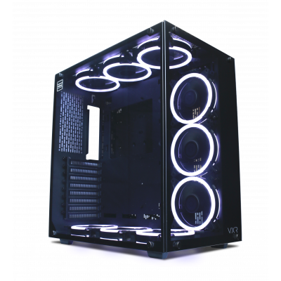 Techware VXR with Orbis Fans Gaming PC Case