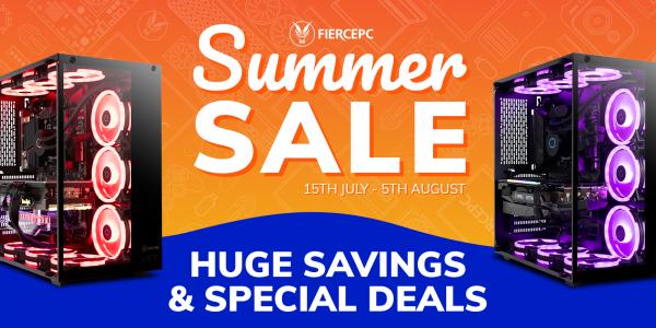 Fierce PC Summer Sale!
