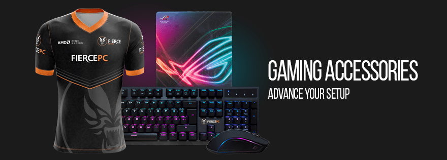 Gaming Accessories Banner