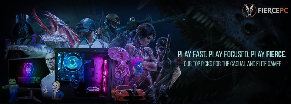 Gaming PCs Banner