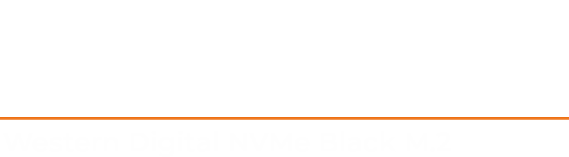 Giveaway, win a Western Digital NVMe Black M.2