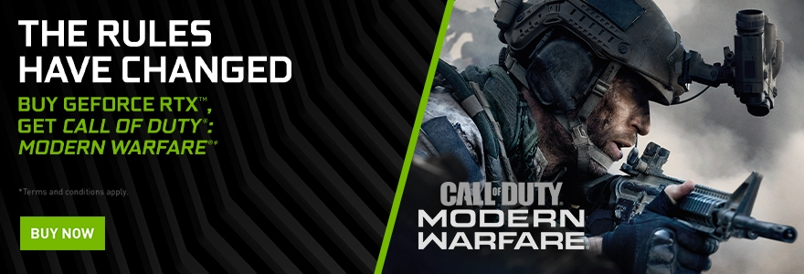NVIDIA Modern Warfare Bundle