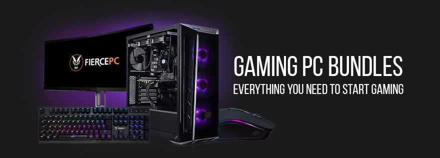 Gaming PC Bundle Banner