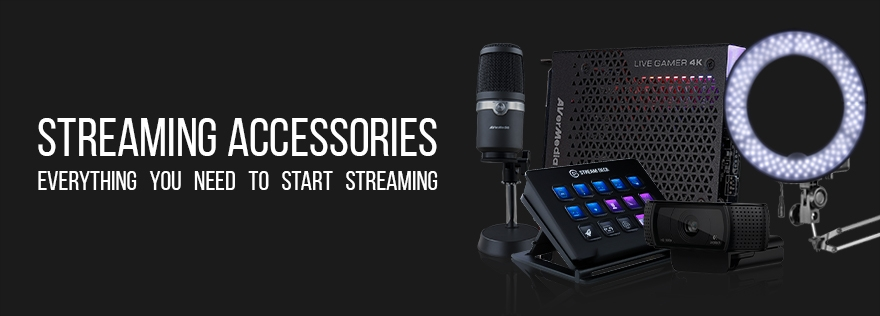 Streaming Accessory Banner