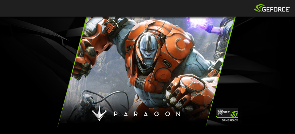 Start a fight. Buy Geforce GTX, get $115 of in-game value for Paragon.