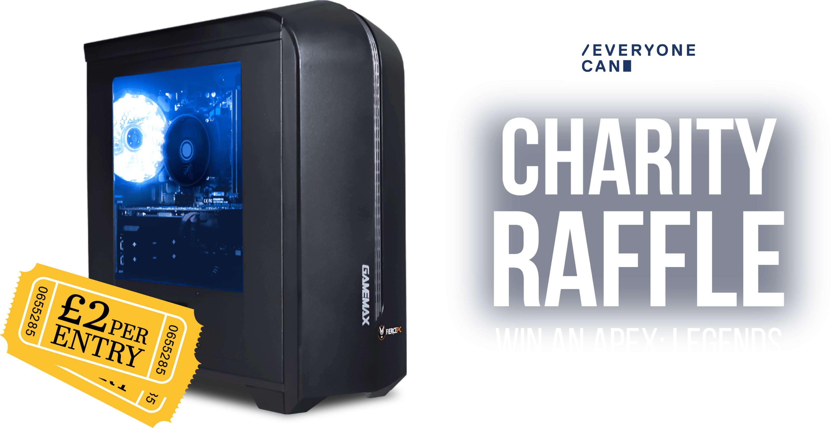 Charity Raffle. Win an Apex: Legends Mirage PC