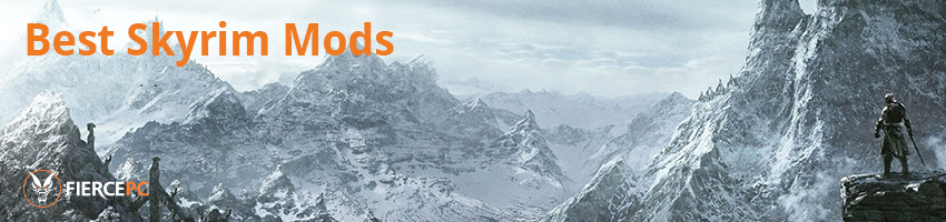 Best Skyrim Mods showcased by Fierce PC