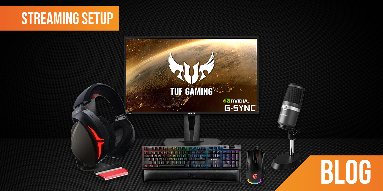 Streaming Setup: Let's take a look at the equipment you need to make your own professional streaming setup