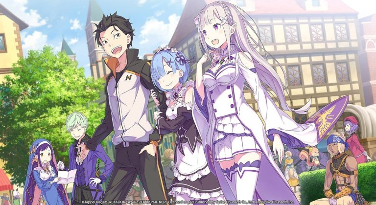 re:zero the prophecy of the throne gameplay
