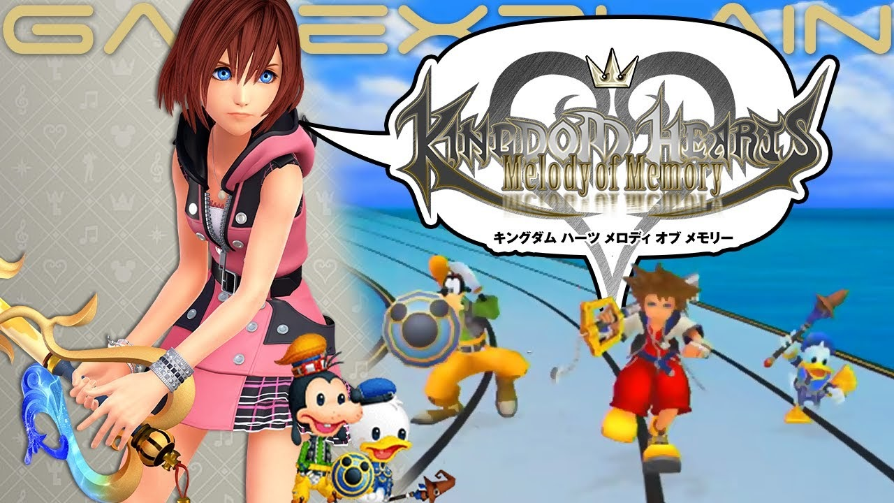 November game releases: Kingdom hearts: melody of memory