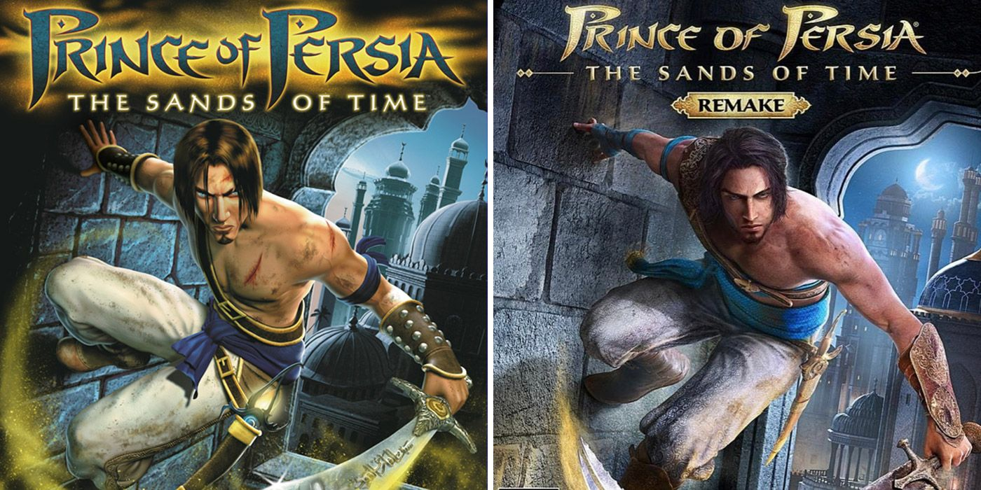 Prince of Persia: The sands of time remake, then and now, prince of persia remake